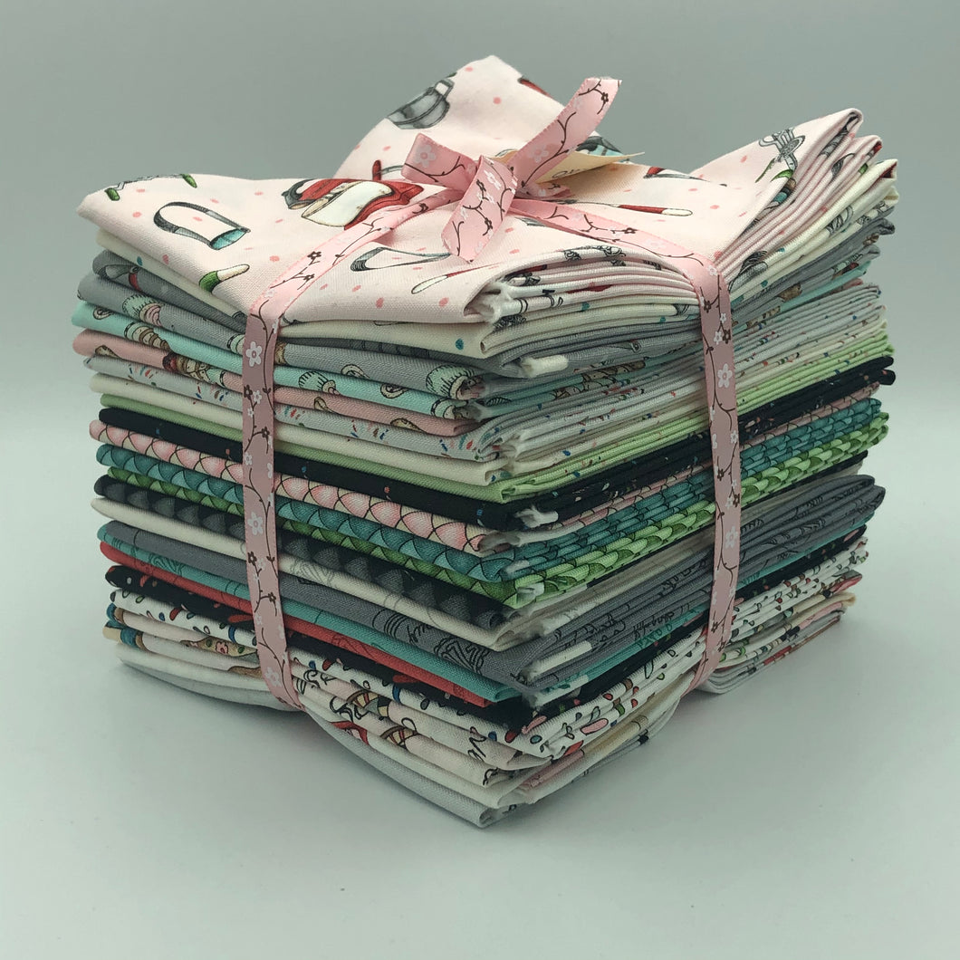 Bundles of 24 Fat Quarters from Happiness is Homemade by Kris Lammers for Maywood Studio