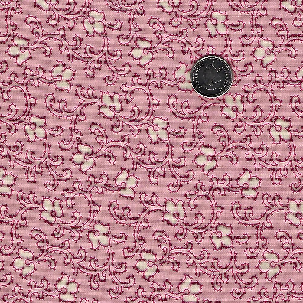 Chafarcani by French General for Moda - Pale Rose Flower Vine