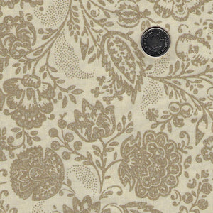 Chafarcani by French General for Moda - Roche/Pearl Tonal Floral