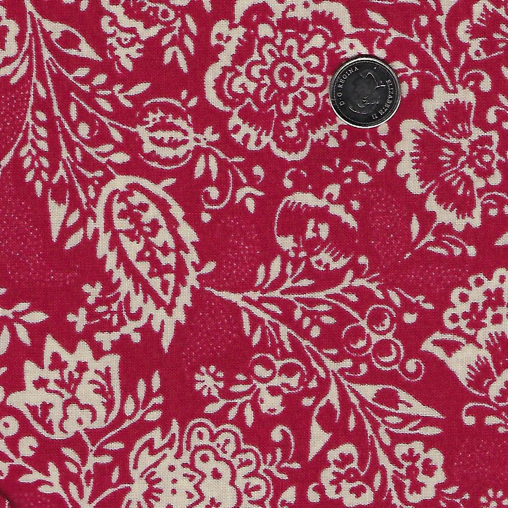 Chafarcani by French General for Moda - Rouge Floral
