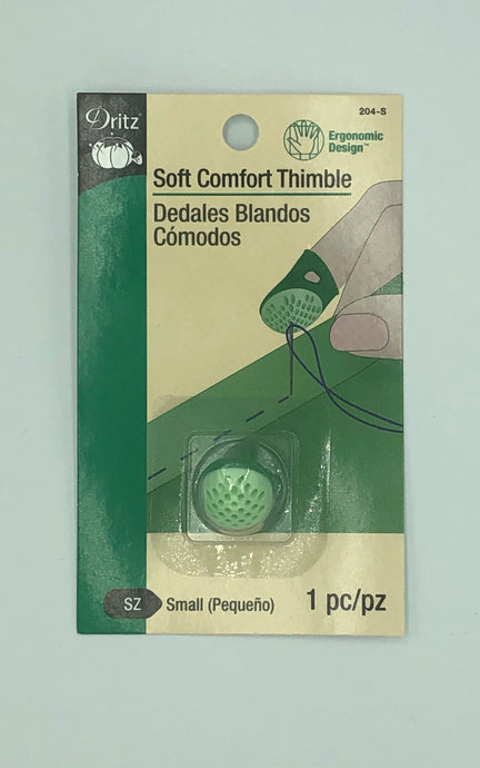 Dritz Soft Comfort Thimble - 3 Sizes