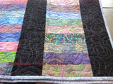 Cotton Candy Lap Throw Quilt