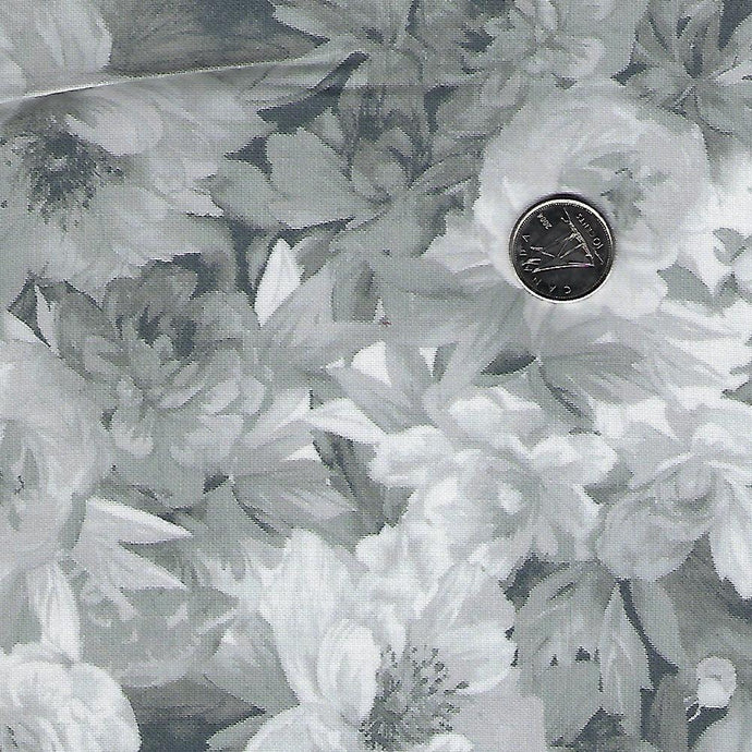 Nocturne by Maywood Studio - Grey & White Roses Small
