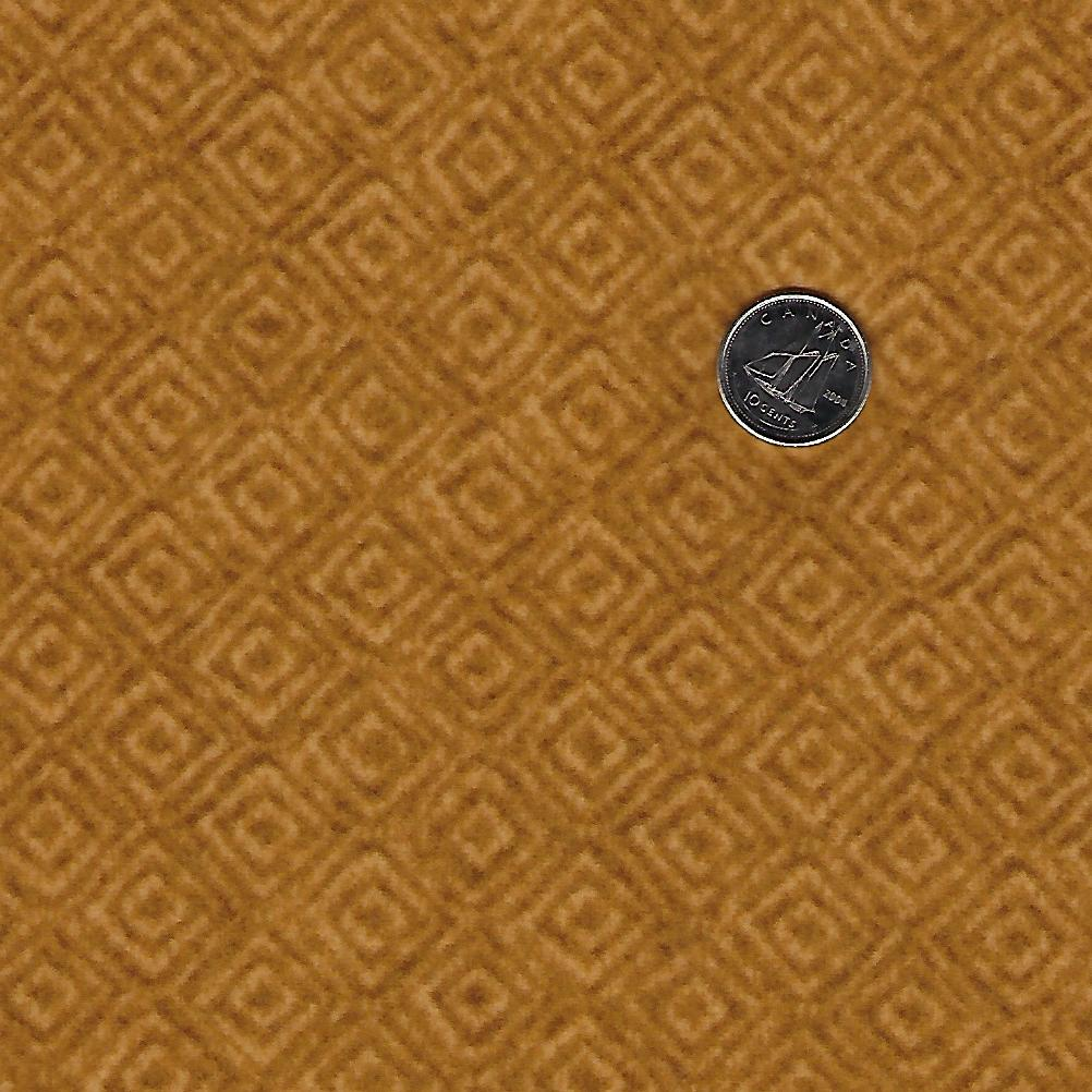 Heritage Woolies Flannel par Bonnie Sullivan pour Maywood Studio - Gold Tone on Tone Squares