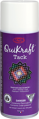 Quikraft Tack - Temporary Fabric Adhesive