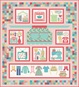 Sew Simple Shapes by Lori Holt of Bee in my Bonnet - Vintage Housewife