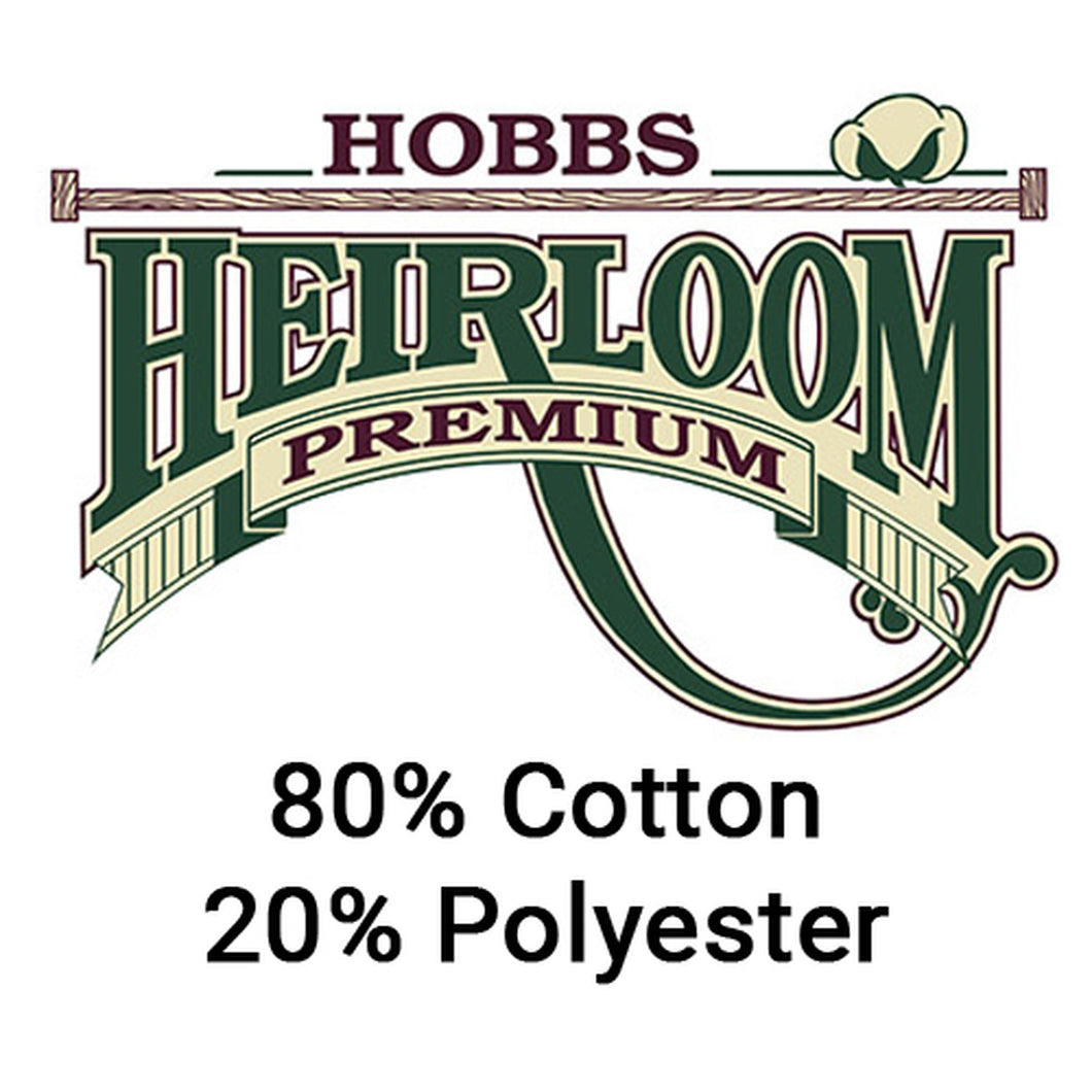 Hobbs Heirloom Batting - 80/20 - 96 Inches Wide