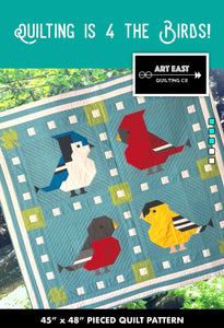 Quilting is 4 the Birds by John Renaud