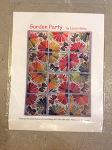 Garden Party Pattern by Laura Heine