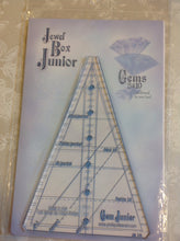 Load image into Gallery viewer, Jewel Box Junior Gems 5 & 10 Ruler