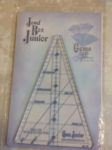 Phillips Fiber Art - Jewel Box Junior Gems 5 & 10 Rulers
