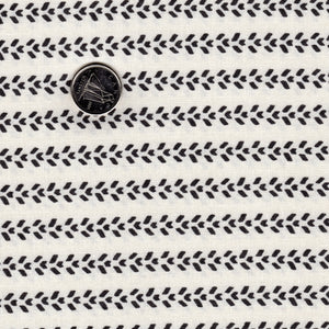 Mighty Machines by Lydia Nelson for Moda - Background Creamy Tire Tracks Black
