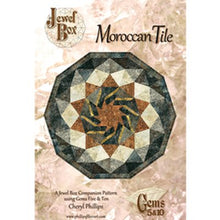Load image into Gallery viewer, Moroccan Tile by Phillips Fiber Art