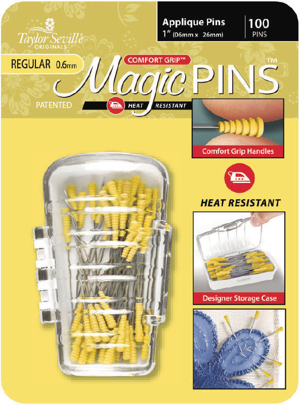 Magic Pins - Épingles Comfort Grip Applique