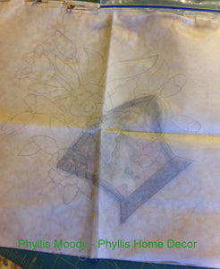 Easy Pattern Blank Tracing Fabric