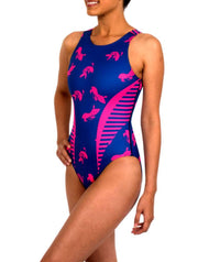 Pink Koi Women's Classic Water Polo Suit - Zumo
