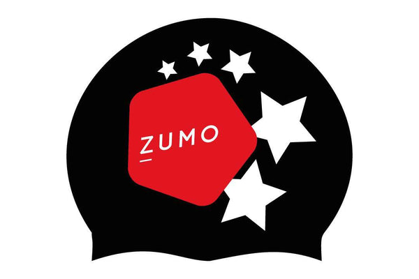 ZUMO Latex Swim Caps- 2 pack