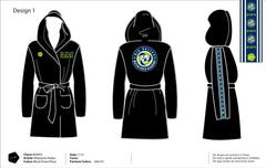 Big Valley Water Polo Academy Microfiber Robe