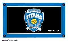 Temescal Canyon HS Men's Water Polo Team Towel with Custom Name