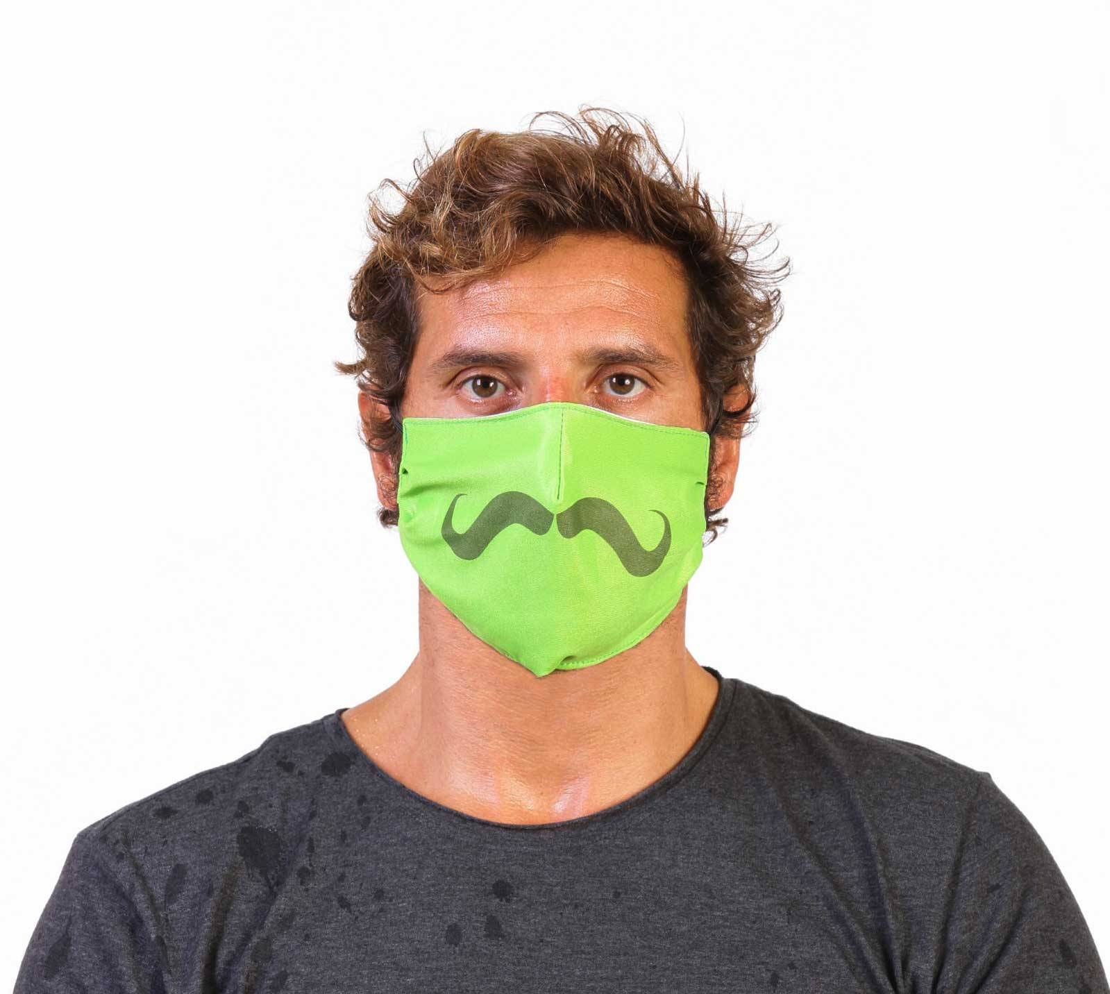 Mustache Face Masks