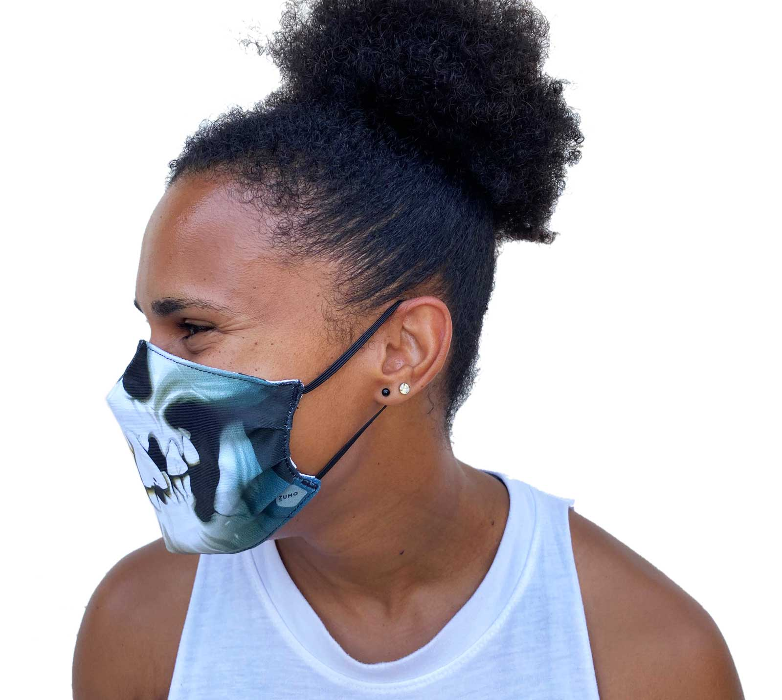 ZUMO Skulls Face Mask