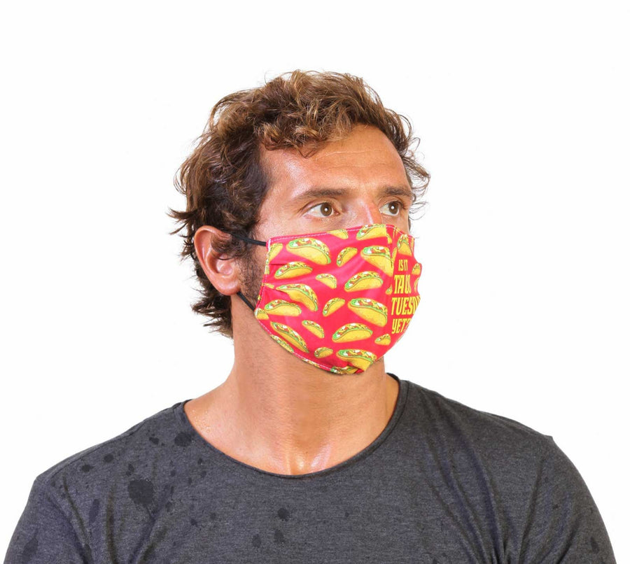 Taco Tuesday - Face Mask