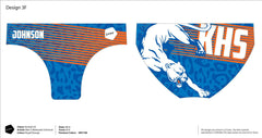 Kimball High School Water Polo Men's Original Zumo Suit (Custom Name Option)