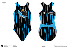 South Valley Water Polo Club Women's Original Water Polo Suit