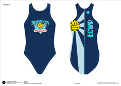 Eugene City Water Polo Club Women's Classic Water Polo Suit (Custom Name Option)