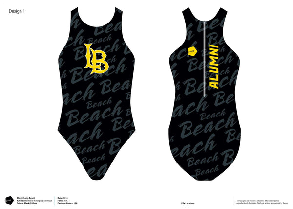 Long Beach State Women's Classic Water Polo Suit