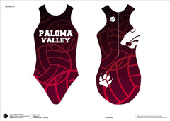 Paloma Valley High School Water Polo Women's Classic Water Polo Suit