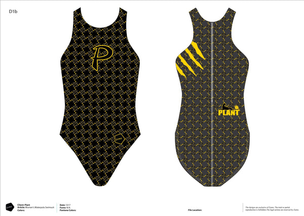 Plant High School Women's Classic Water Polo Suit