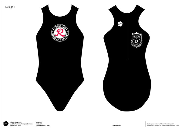 Royal 559 WPA Women's Classic Water Polo Suit