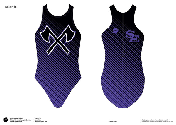 South Eugene HS Women's Classic Water Polo Suit