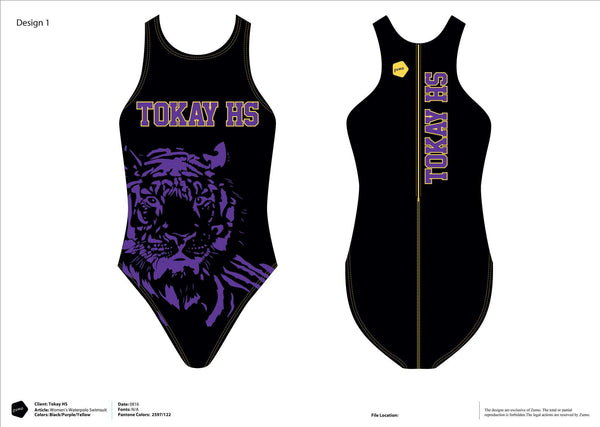 Tokay HS Water Polo 2016 Women's Original Water Polo Suit