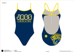 Gregori High School Swimming Women's Team Tank Suit