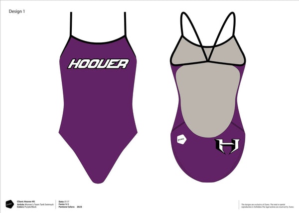Hoover High School Swim Team Women's Team Tank