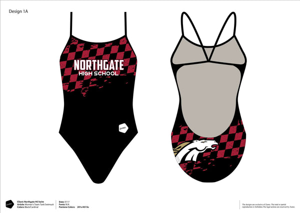 Northgate HS Swim Team Women's Team Tank (ONE FREE WITH REGISTRATION)