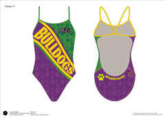 Waukegan Swim Team Women's Team Tank
