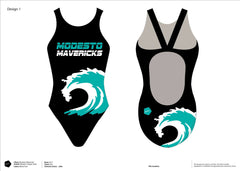 Modesto Mavericks Swim Team Classic Racer