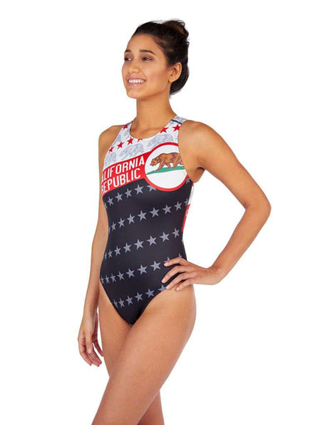 California Republic Women's Euro Water Polo Suit
