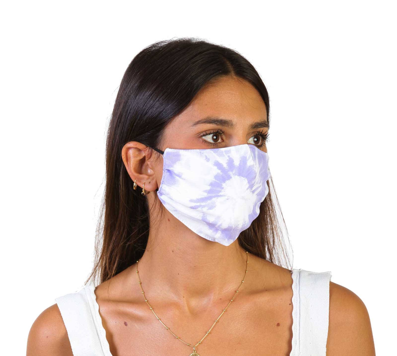 Tie Dye Purple Haze - Face Mask