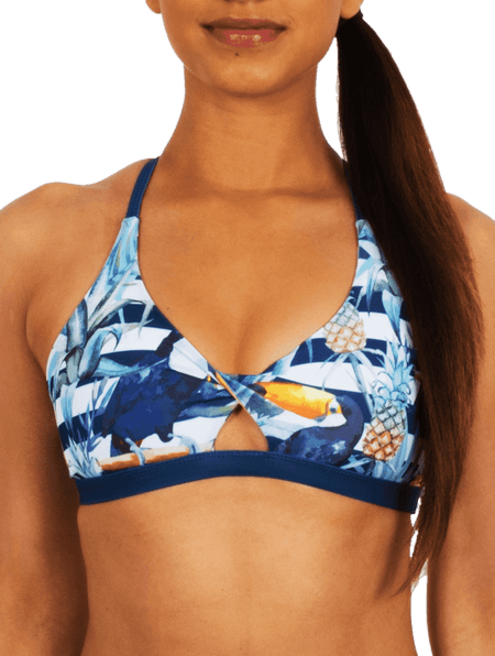 Toucan Do It Bikini Twist Top
