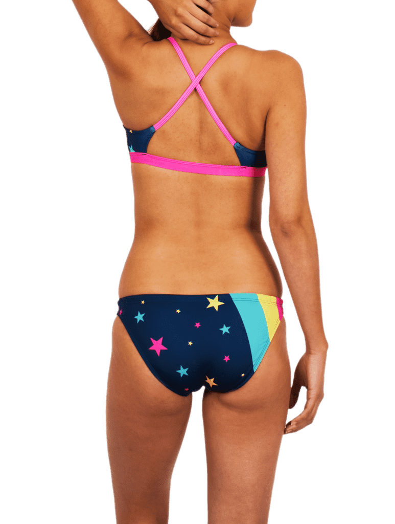 Retro Super Star Bikini Twist Top - Zumo