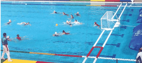 AntiWave Water Polo Course