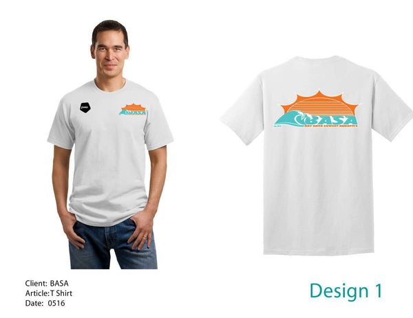 Bay Area Sunset Aquatics Men's T-Shirt
