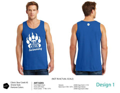 Bear Creek HS Swimming Tank Top
