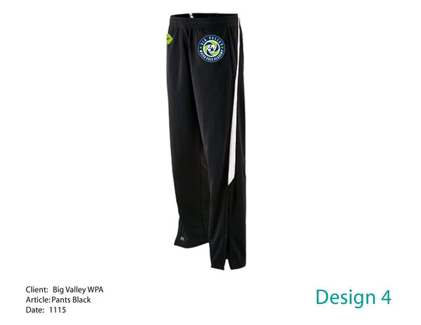 Big Valley Water Polo Academy Sweatpants (men/women/youth)