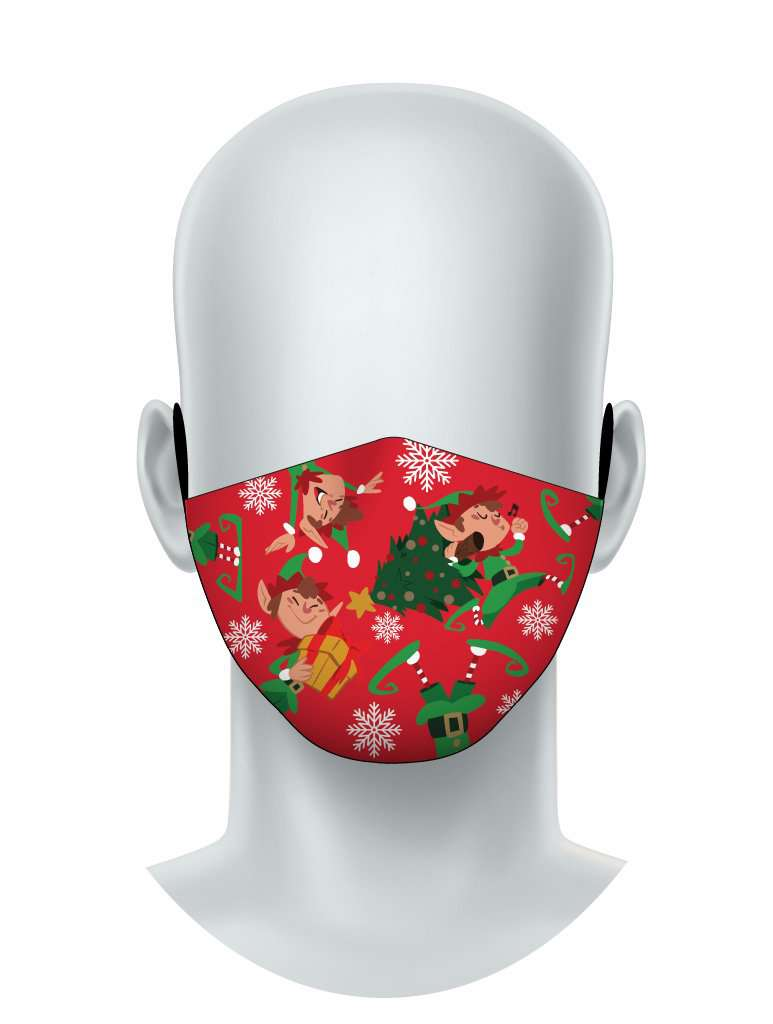 Santa's Elves  - Face Mask