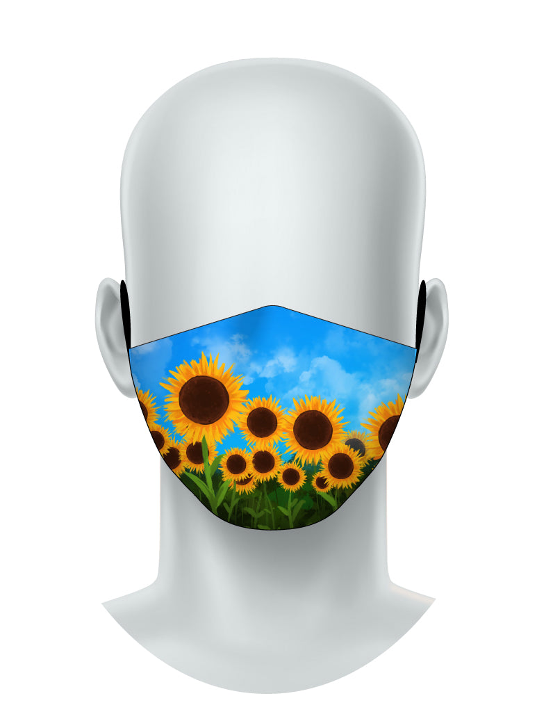 Sunflowers - Face Mask